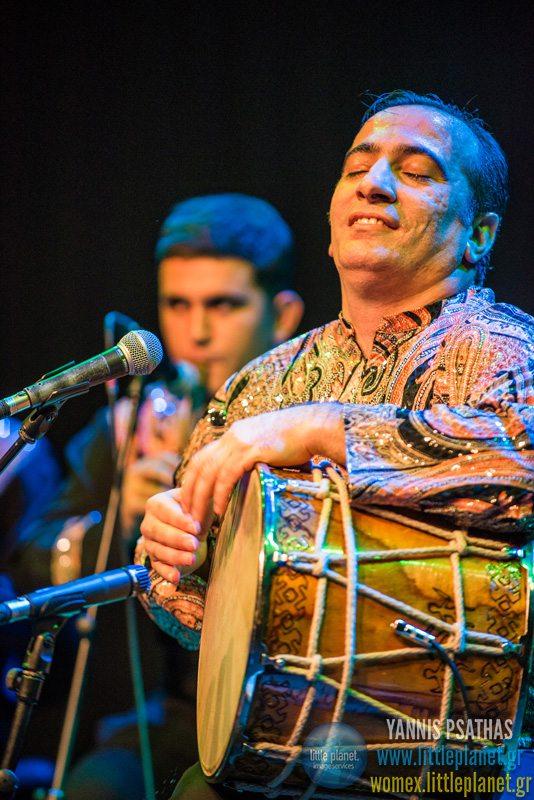 Natig Rythm Group live concert at WOMEX Festival 2015 in Budapest © Yannis Psathas Concert Photographer