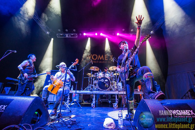 Nine Treasures live concert at WOMEX Festival 2015 in Budapest © Yannis Psathas Concert Photographer
