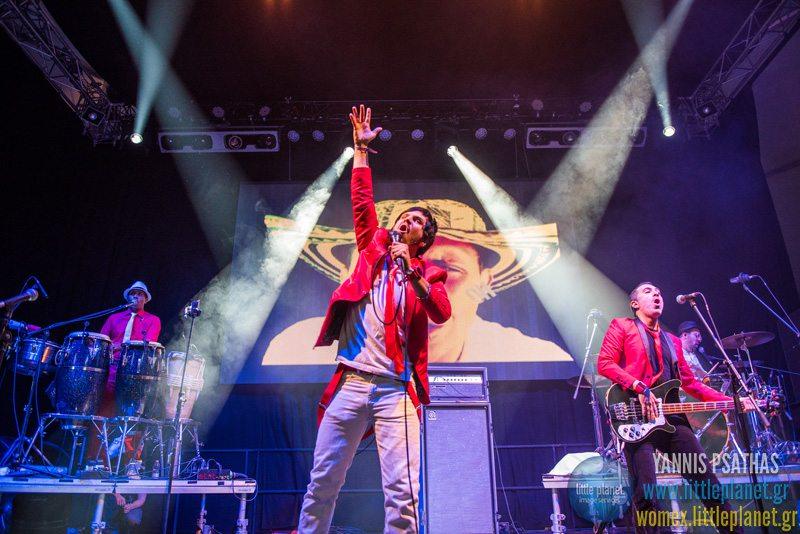 Palenke Soultribe live concert at WOMEX Festival 2015 in Budapest © Yannis Psathas Concert Photographer