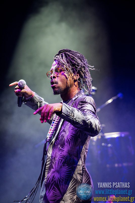 Pierre Kwenders live concert at WOMEX Festival 2015 in Budapest © Yannis Psathas Concert Photographer