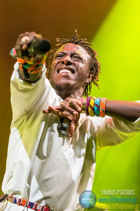 Sarabi live concert at WOMEX Festival 2015 in Budapest © Yannis Psathas Concert Photographer