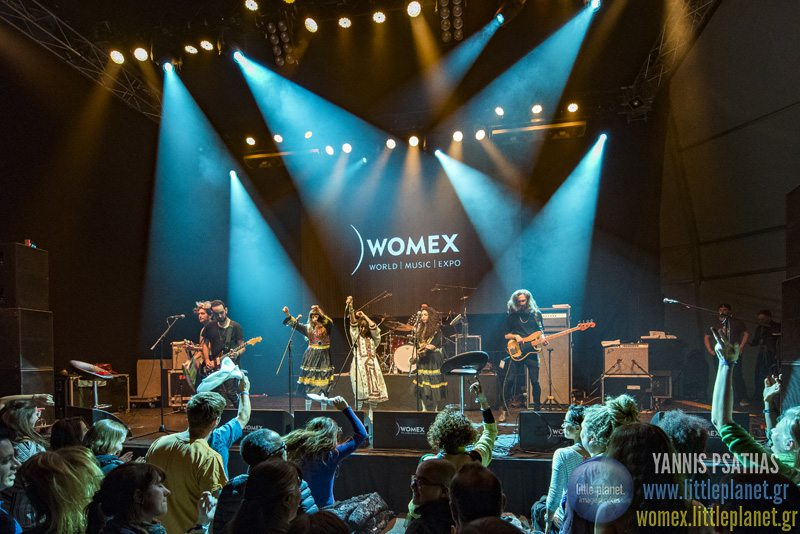 A Walive concert at WOMEX Festival 2015 in Budapest © Yannis Psathas Music Photographer