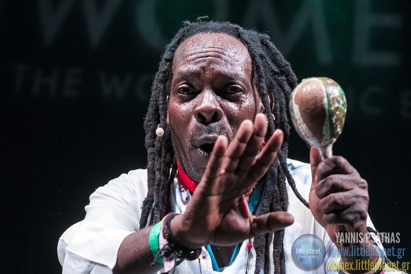 Chouk Bwa Libertelive concert at WOMEX Festival 2015 in Budapest © Yannis Psathas Music Photographer