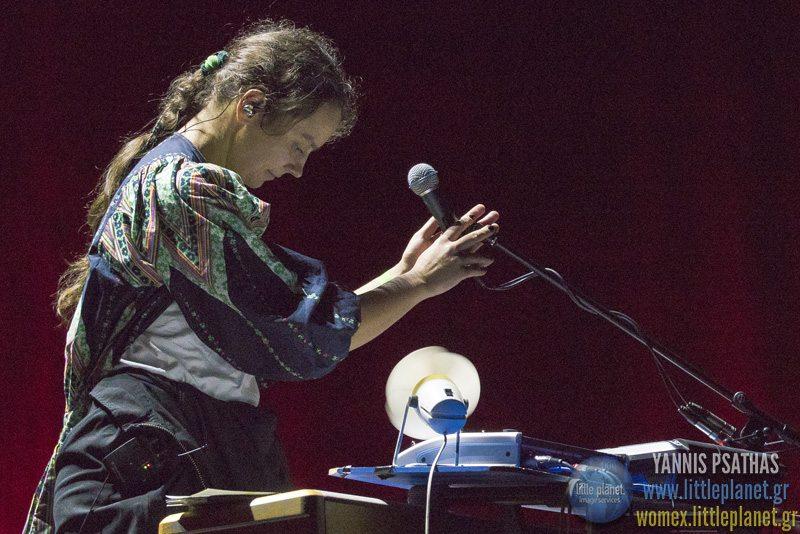 Karolina Cicha Bart Palyga live concert at WOMEX Festival 2015 in Budapest © Yannis Psathas Music Photographer