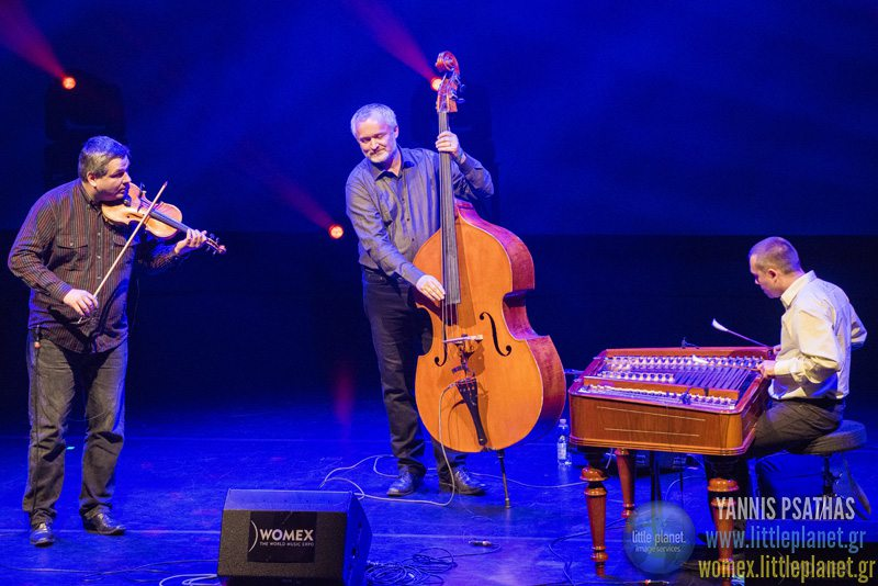 PaCora Trio live concert at WOMEX Festival 2015 in Budapest © Yannis Psathas Music Photographer