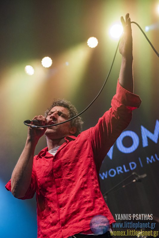 Zoufris Maracas live concert at WOMEX Festival 2015 in Budapest © Yannis Psathas Music Photographer