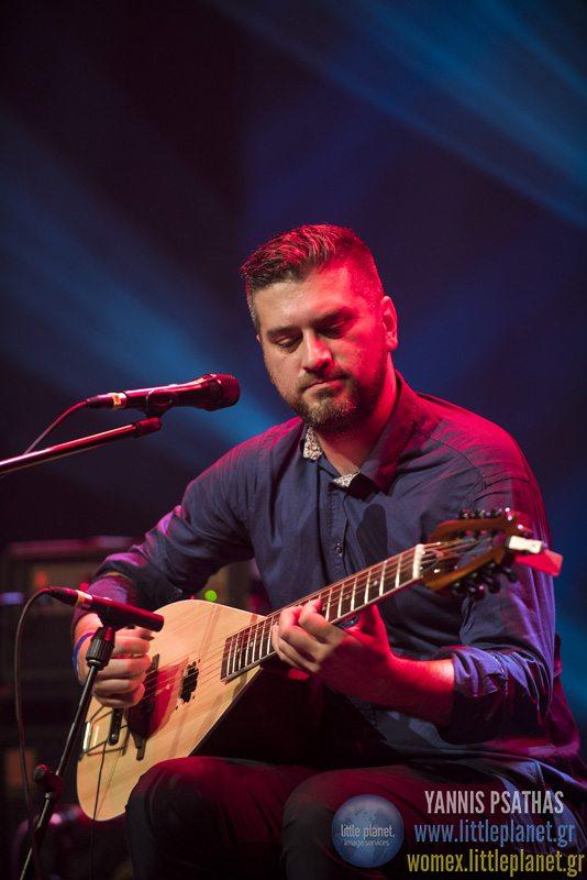 Damir Imamovic Sevdah Takhtlive concert at WOMEX Festival 2015 in Budapest © Yannis Psathas Music Photographer