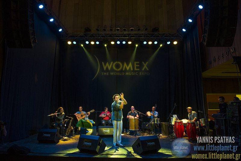 Leandro Fregonesilive concert at WOMEX Festival 2015 in Budapest © Yannis Psathas Music Photographer