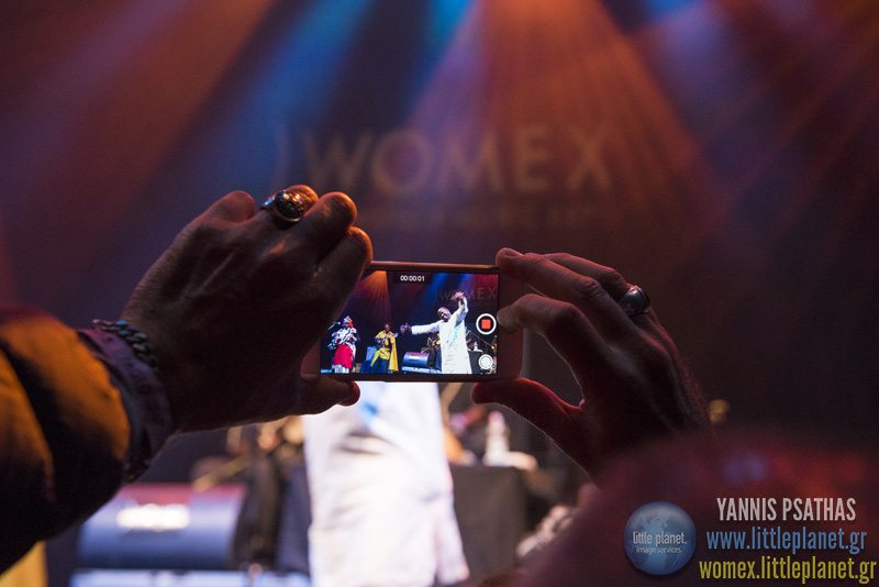 Mamar Kasseylive concert at WOMEX Festival 2015 in Budapest © Yannis Psathas Music Photographer