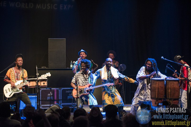 Pat Thomas Kwashibu Area Bandlive concert at WOMEX Festival 2015 in Budapest © Yannis Psathas Music Photographer