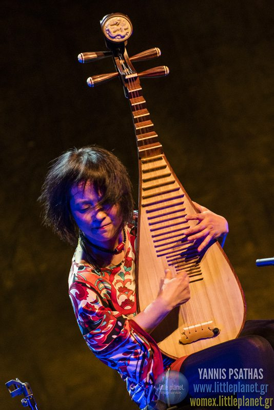 Wu Manlive concert at WOMEX Festival 2015 in Budapest © Yannis Psathas Music Photographer