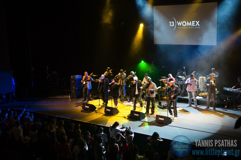 Los Van Van live concert at Womex Festival Awards 2013 in Cardiff © Yannis Psathas Music Photographer