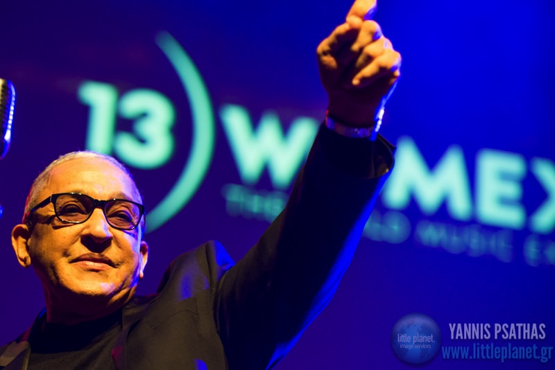Juan Formell and Los Van Van live concert at Womex Festival Awards 2013 in Cardiff © Yannis Psathas Music Photographer