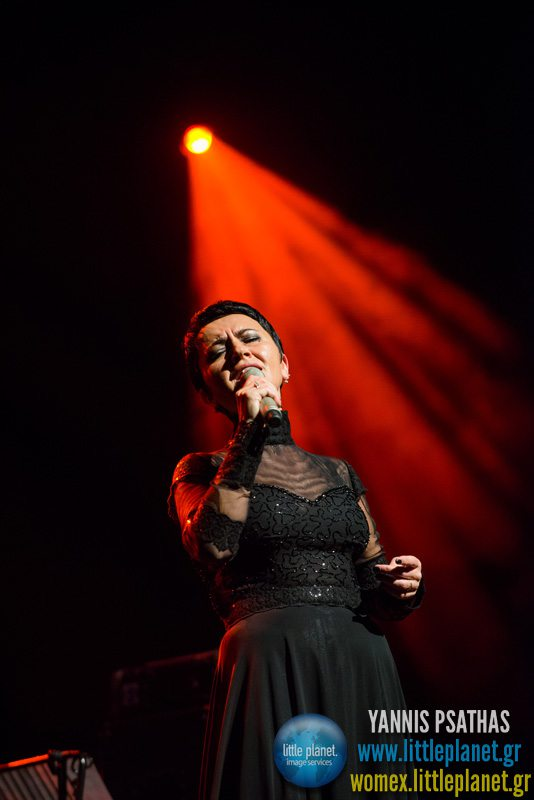 Amira live concert at WOMEX Festival 2013 in Cardiff © Yannis Psathas Music Photographer