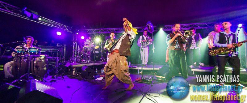 Fanfarai live concert at WOMEX Festival 2013 in Cardiff © Yannis Psathas Music Photographer