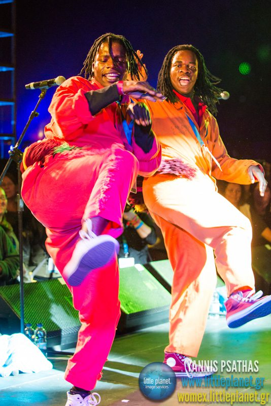 Shangaan Electro live concert at WOMEX Festival 2013 in Cardiff © Yannis Psathas Music Photographer