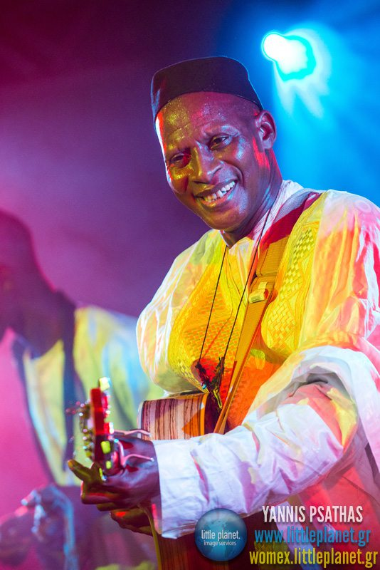 Sidi Toure live concert at WOMEX Festival 2013 in Cardiff © Yannis Psathas Music Photographer