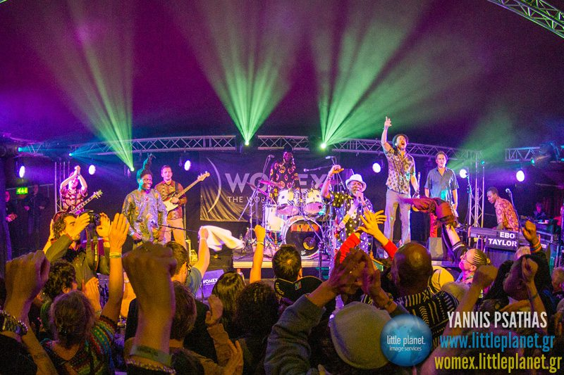Ebo Taylor live concert at WOMEX Festival 2013 in Cardiff © Yannis Psathas Music Photographer
