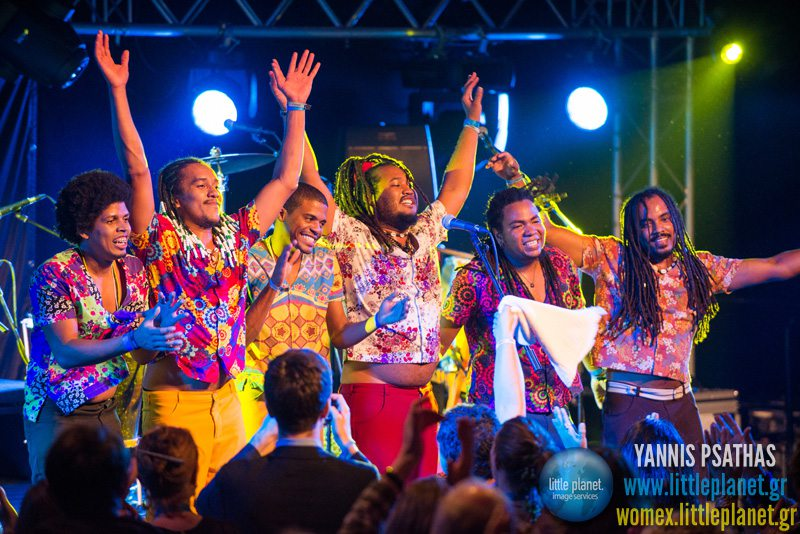 Grupo Bongar live concert at WOMEX Festival 2013 in Cardiff © Yannis Psathas Music Photographer