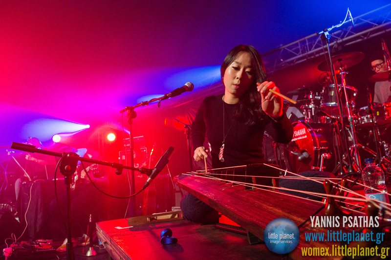 Jambinai live concert at WOMEX Festival 2013 in Cardiff © Yannis Psathas Music Photographer