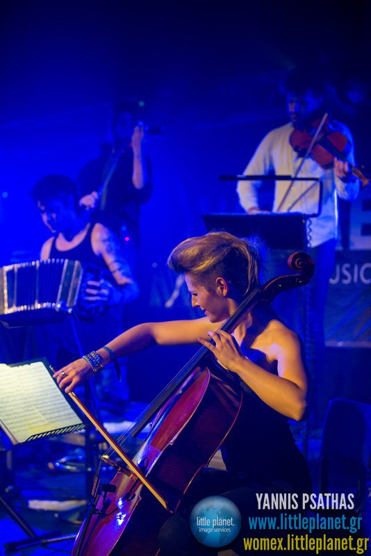 Rascasuelos live concert at WOMEX Festival 2013 in Cardiff © Yannis Psathas Music Photographer