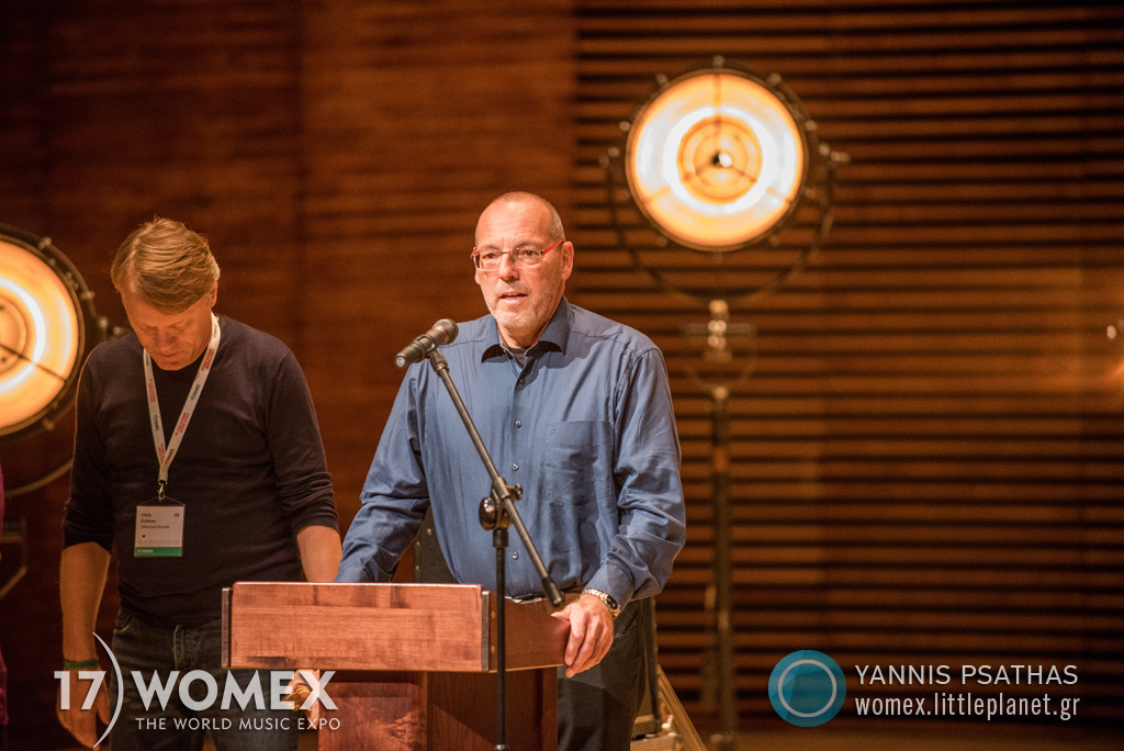 Womex 2017 Awards Ceremony Katowice Poland © Yannis Psathas Music Photographer