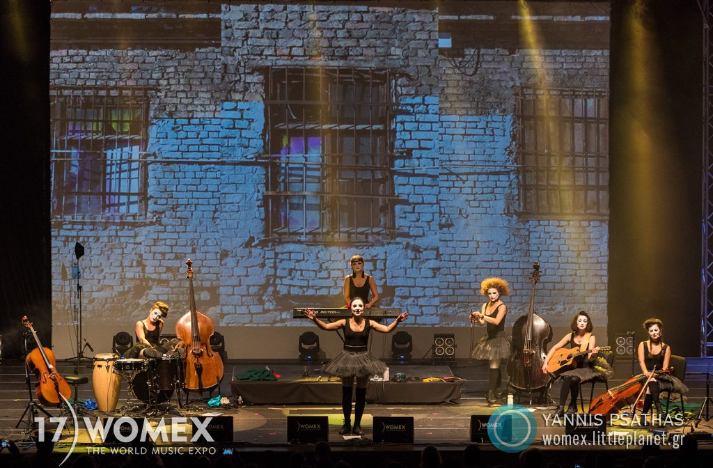 Dakh Daughters concert at Womex Festival 2017 in Katowice © Yannis Psathas Music Photographer