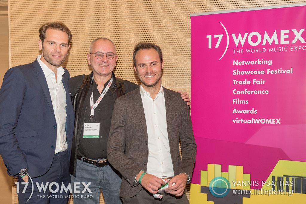 Drucke Leblanc Staszewski concert at Womex Festival 2017 in Katowice © Yannis Psathas Music Photographer