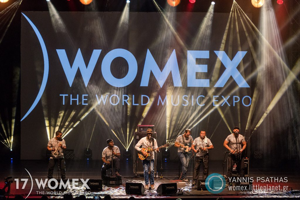 Elkin Robinson concert at Womex Festival 2017 in Katowice © Yannis Psathas Music Photographer