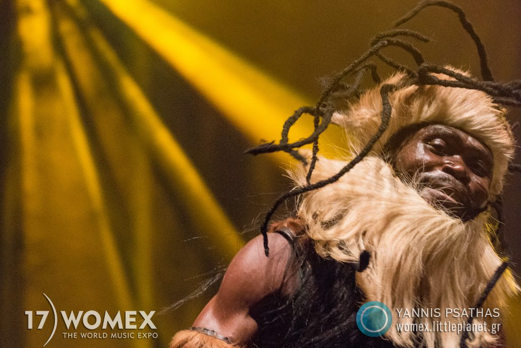 King Ayisoba concert at Womex Festival 2017 in Katowice © Yannis Psathas Music Photographer