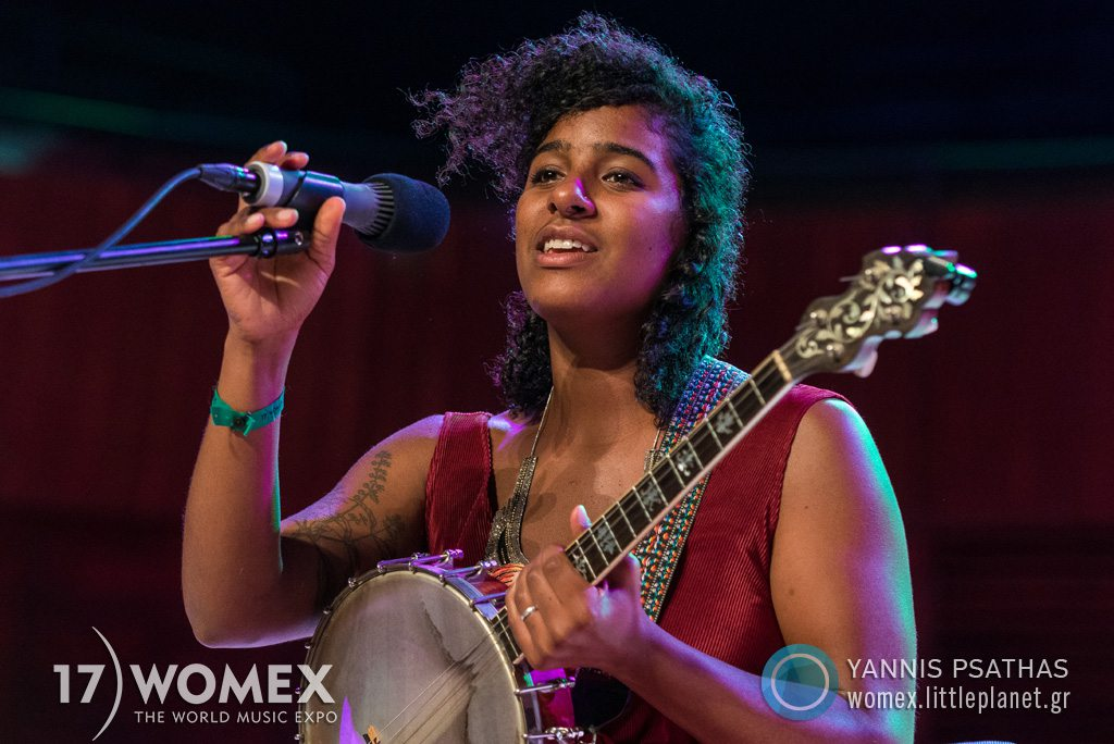 Leyla McCalla concert at Womex Festival 2017 in Katowice © Yannis Psathas Music Photographer
