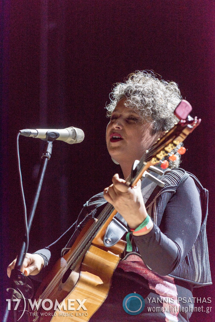 Luciana Jury concert at Womex Festival 2017 in Katowice © Yannis Psathas Music Photographer