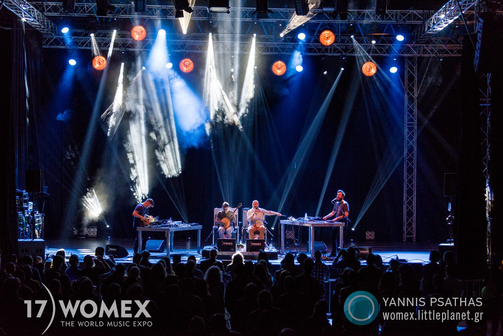 Super Parquet concert at Womex Festival 2017 in Katowice © Yannis Psathas Music Photographer