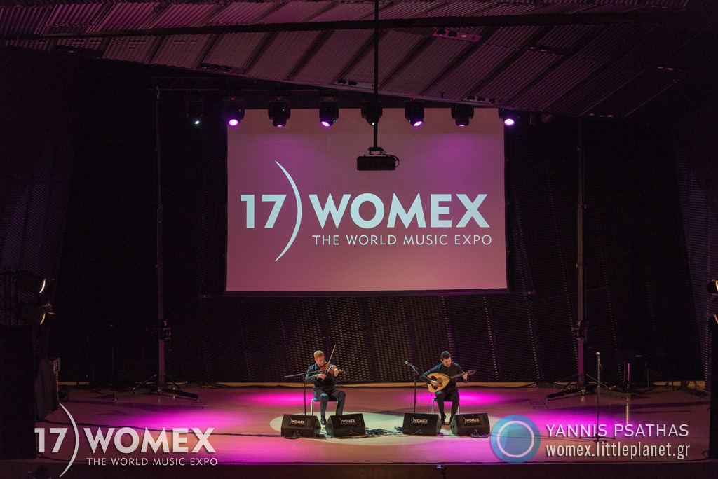 Vasilis Kostas Layth Sidiq concert at Womex Festival 2017 in Katowice © Yannis Psathas Music Photographer
