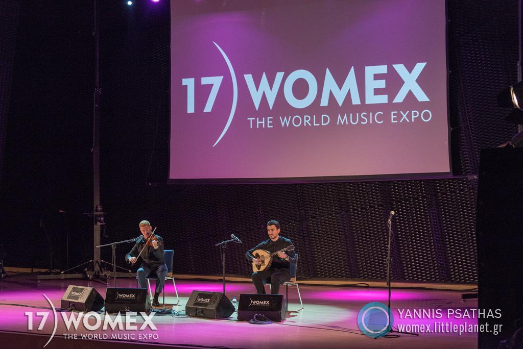 Vasilis Kostas Layth Sidiq concert at Womex Festival 2017 in Katowice © Yannis Psathas Music Photographer