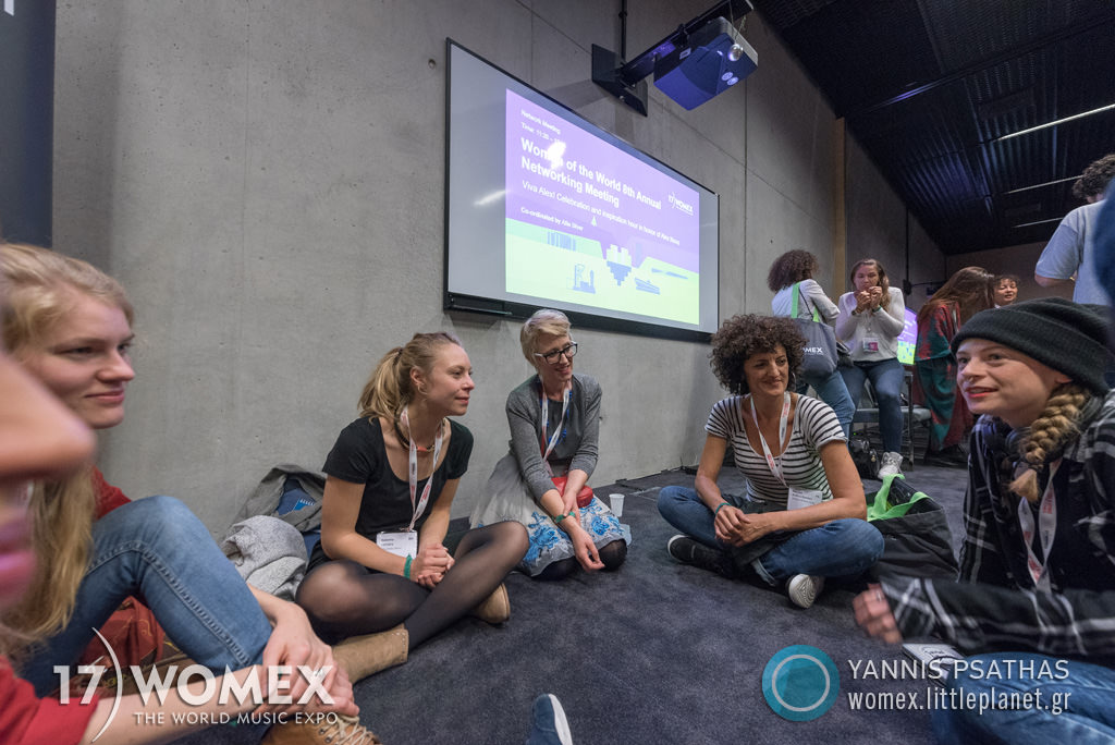 Women Networking concert at Womex Festival 2017 in Katowice © Yannis Psathas Music Photographer