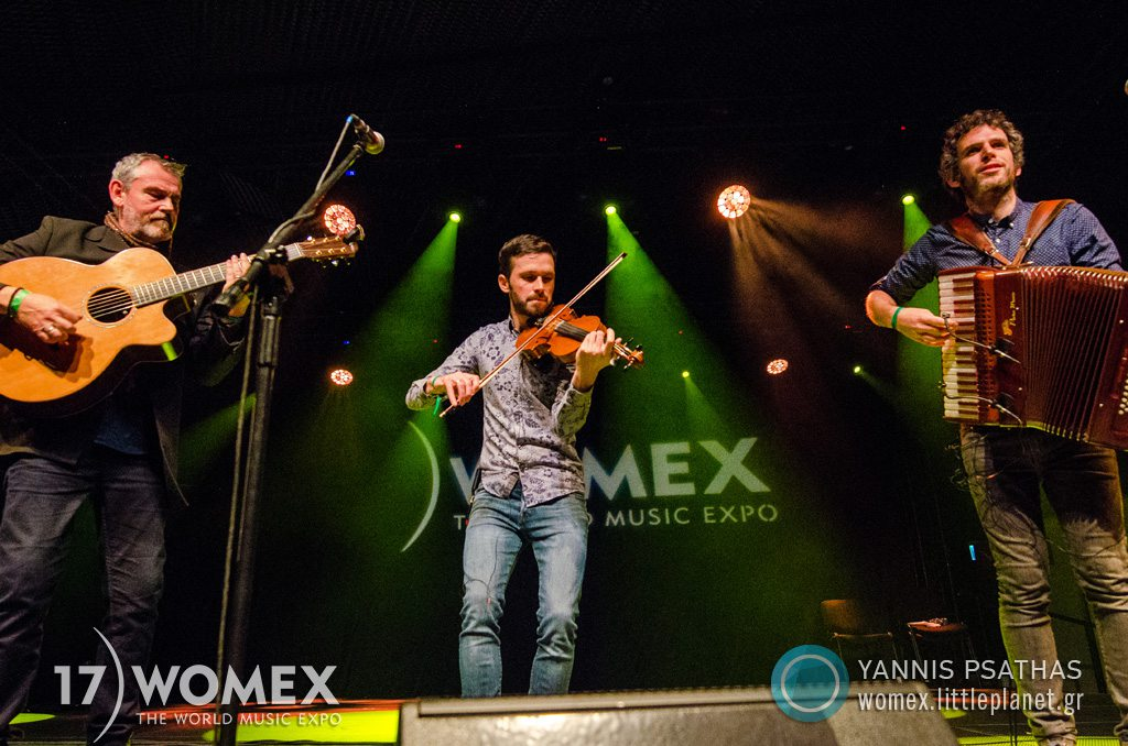 Alaw concert at Womex Festival 2017 in Katowice © Yannis Psathas Music Photographer