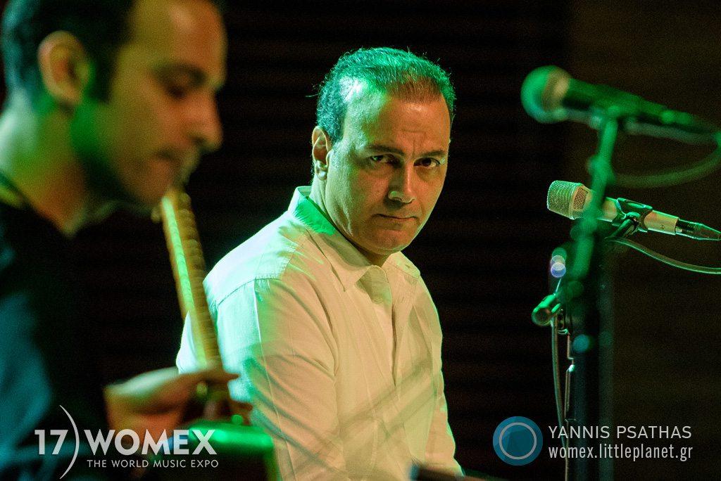 Alireza Ghorbani concert at Womex Festival 2017 in Katowice © Yannis Psathas Music Photographer