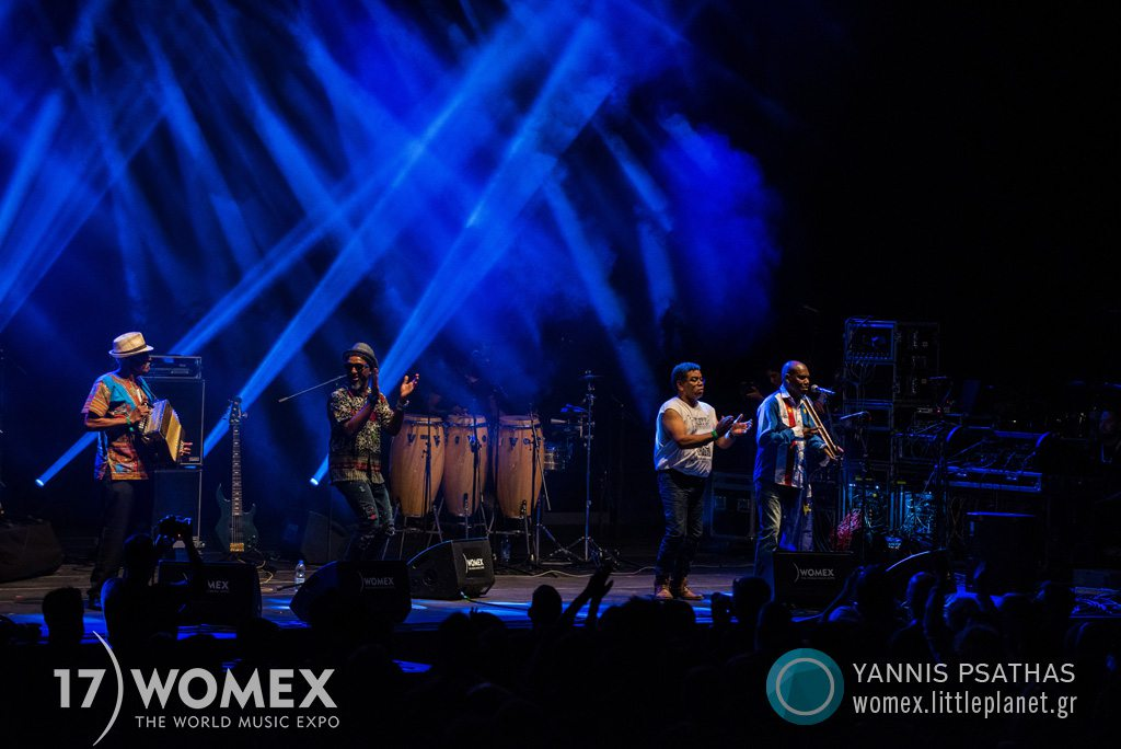 Bitori Chando Graciosa concert at Womex Festival 2017 in Katowice © Yannis Psathas Music Photographer