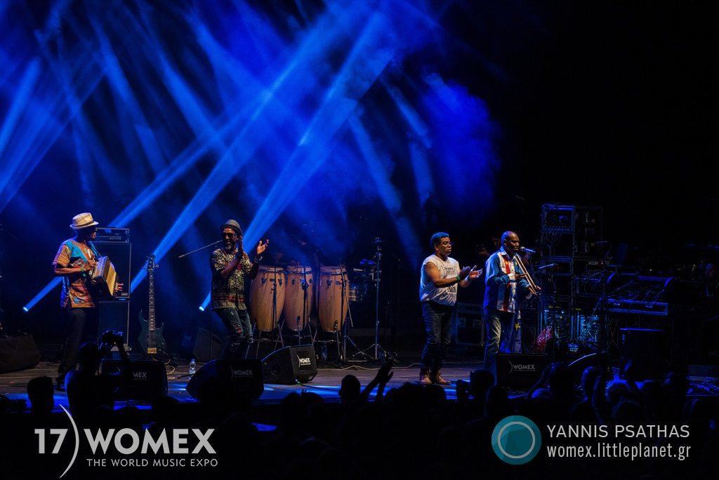 Bitori Chando Graciosa concert at Womex Festival 2017 in Katowice © Yannis Psathas Music Photographer