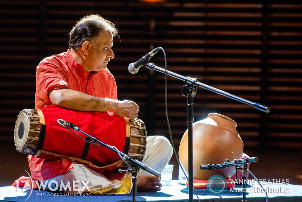 Carnatic Nomad – Jyotsna Srikanth concert at Womex Festival 2017 in Katowice © Yannis Psathas Music Photographer
