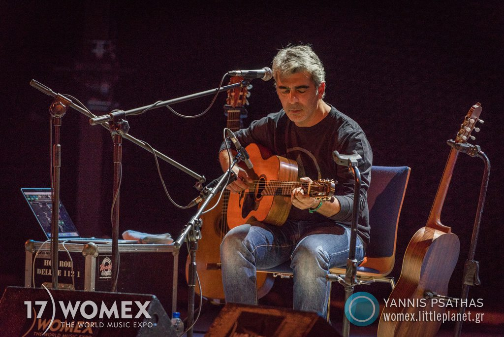 Dimitris Mistakidis concert at Womex Festival 2017 in Katowice © Yannis Psathas Music Photographer