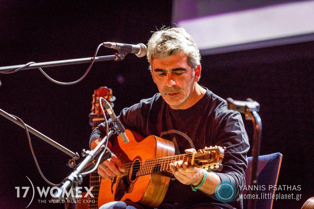 Dimitris Mistakidis concert at Womex Festival 2017 in Katowice © Yannis Psathas Music Photographer