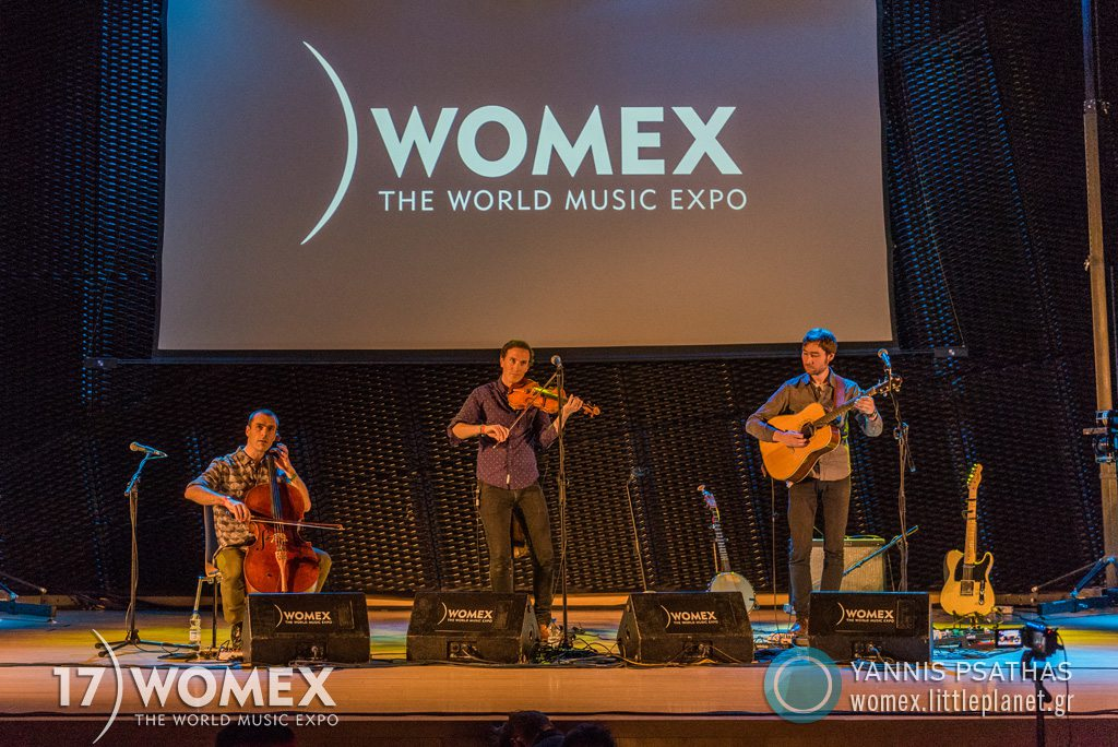 Erlend Viken Trio concert at Womex Festival 2017 in Katowice © Yannis Psathas Music Photographer