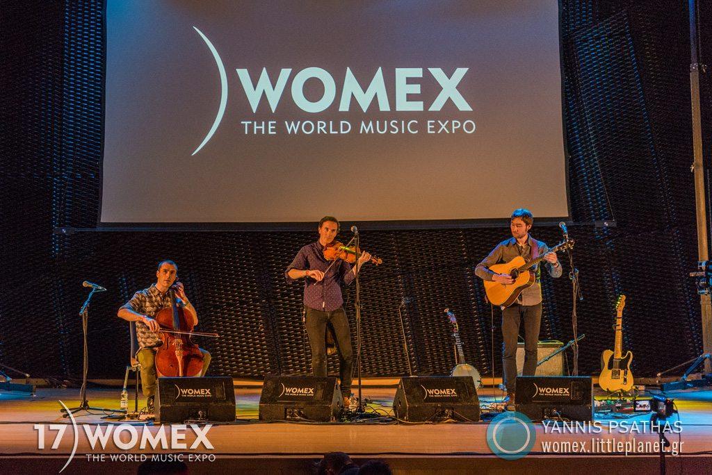 Erlend Viken Trio concert at Womex Festival 2017 in Katowice © Yannis Psathas Music Photographer