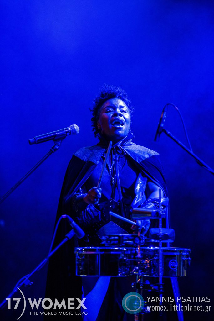 Gato Preto concert at Womex Festival 2017 in Katowice © Yannis Psathas Music Photographer