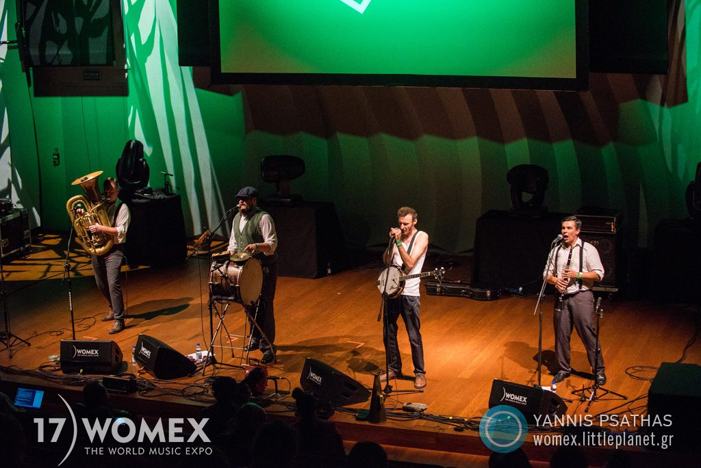 Hanba concert at Womex Festival 2017 in Katowice © Yannis Psathas Music Photographer
