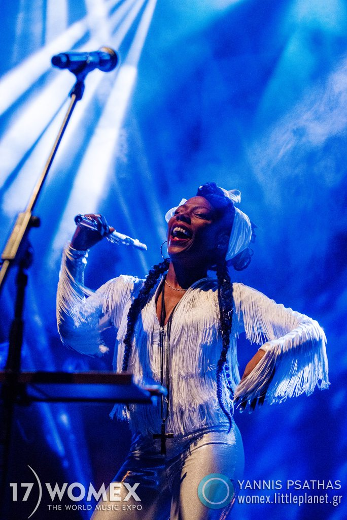 La Dame Blanche concert at Womex Festival 2017 in Katowice © Yannis Psathas Music Photographer