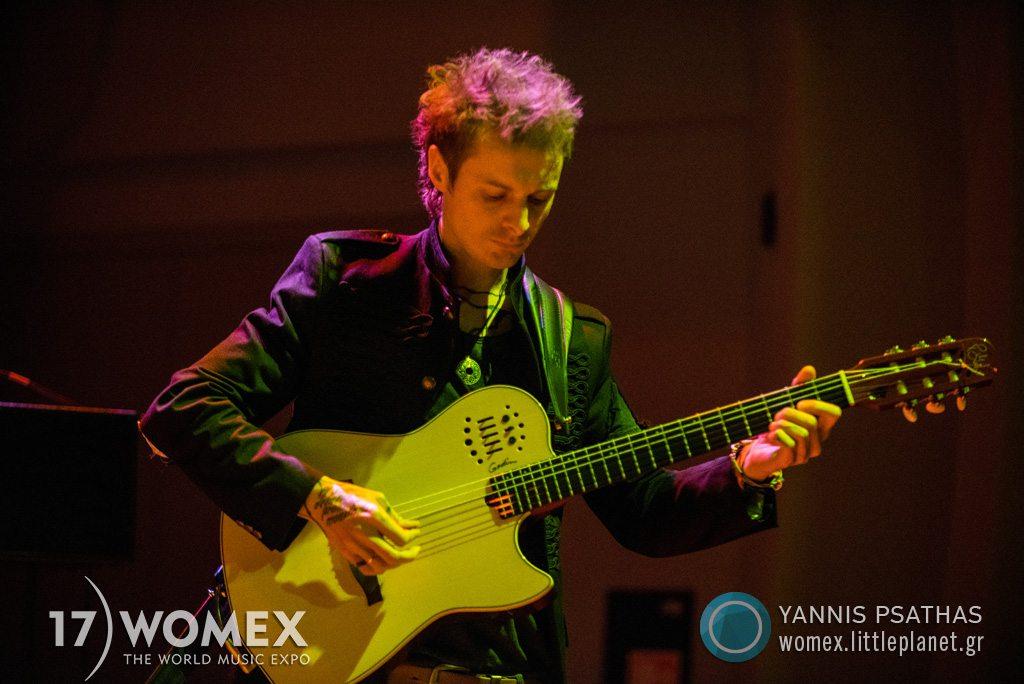 Marcin Wyrostek Band concert at Womex Festival 2017 in Katowice © Yannis Psathas Music Photographer