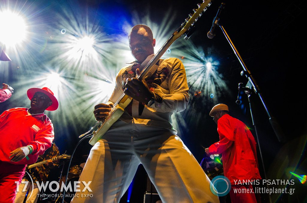 Orchestre Les Mangelepa concert at Womex Festival 2017 in Katowice © Yannis Psathas Music Photographer